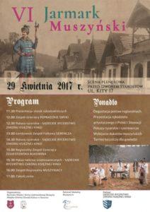 VI jarmark muszyński - plakat