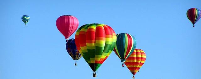 Balony na gorące powietrze