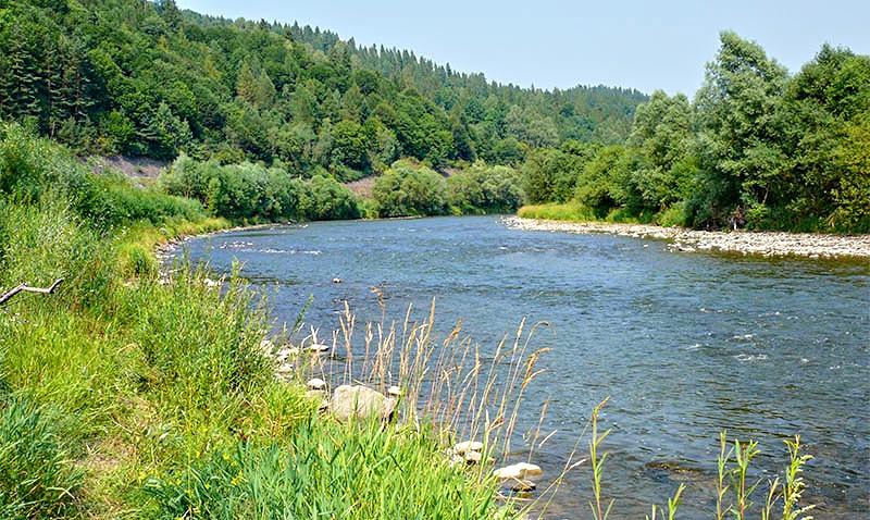 Rzeka Poprad
