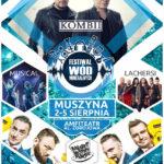 Festiwal Wód Mineralnych 2018 w Muszynie - plakat